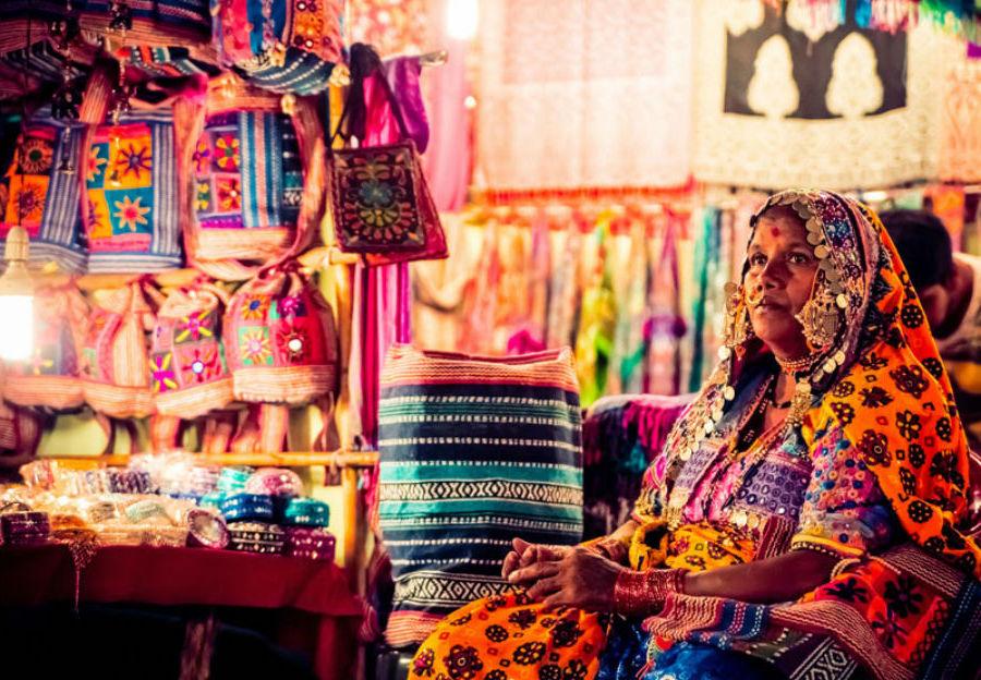 Ночной рынок в Арпоре, Гоа | Топ-8 самых колоритных рынков мира | Brain Berries