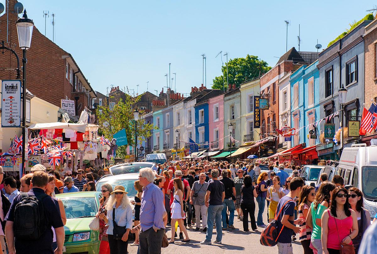 Портобелло, Лондон | Топ-8 самых колоритных рынков мира | Brain Berries