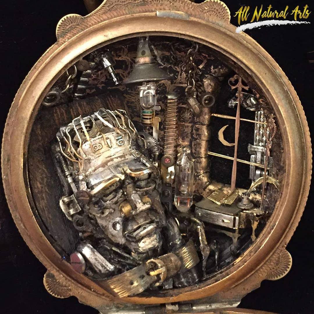 Frankenstein's Monster | 8 Impressive Sue Beatrice Sculptures | Brain Berries