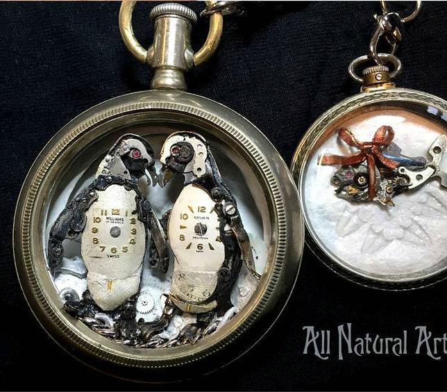 Penguin Love | 8 Impressive Sue Beatrice Sculptures | Brain Berries