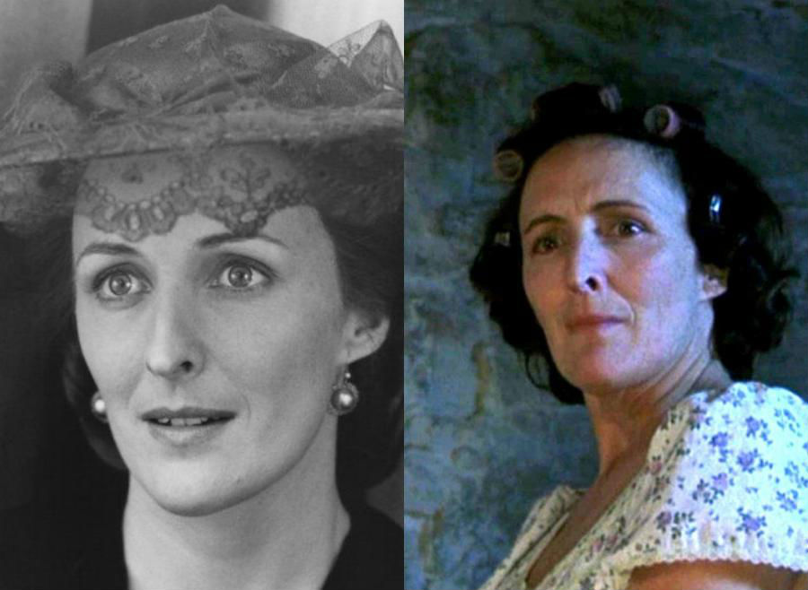 Fiona Shaw/Petunia Dursley | The Older Cast Of Harry Potter In Their Much Younger Photos | ZestRadar