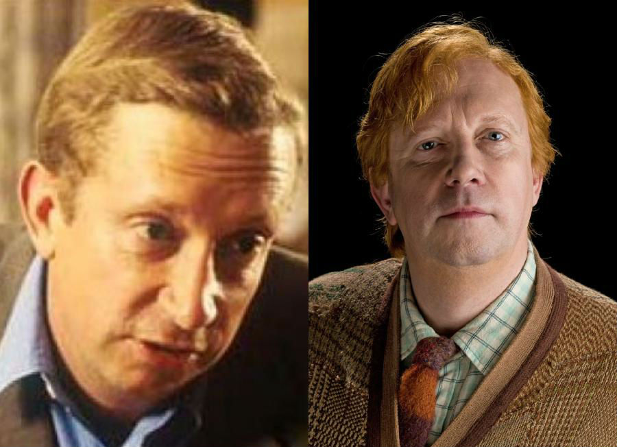 Mark Williams/Arthur Weasly | The Older Cast Of Harry Potter In Their Much Younger Photos | ZestRadar