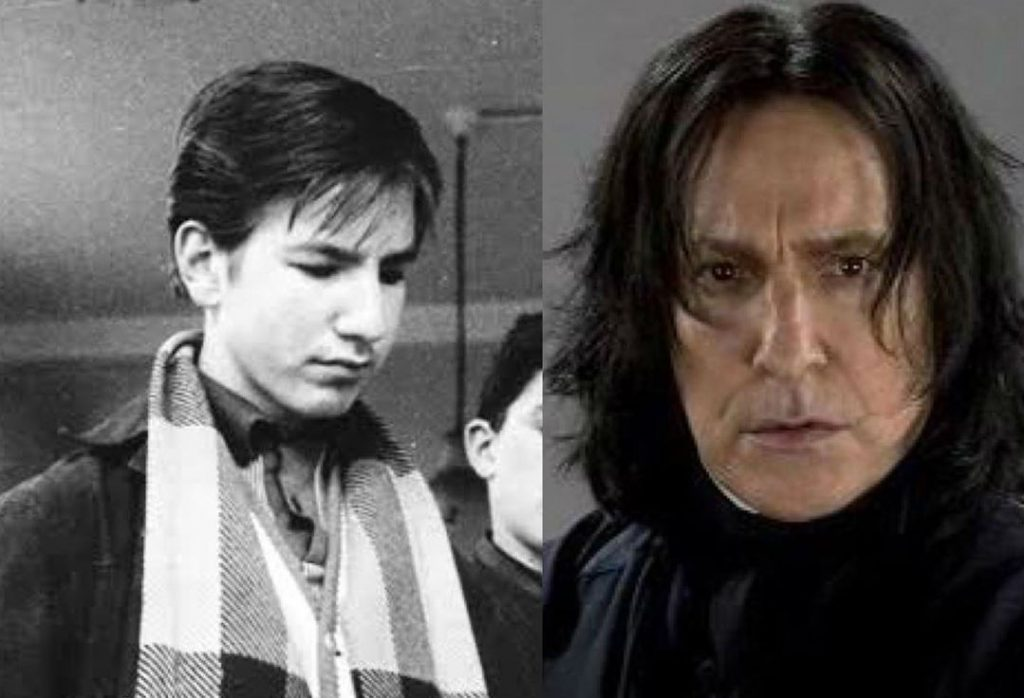 Alan Rickman/Severus Snape | The Older Cast Of Harry Potter In Their Much Younger Photos | ZestRadar