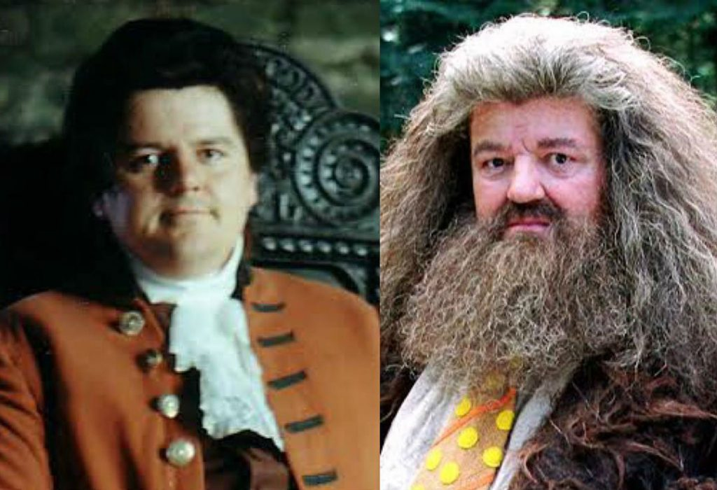 Robbie Coltrane/Rubeus Hagrid | The Older Cast Of Harry Potter In Their Much Younger Photos | ZestRadar