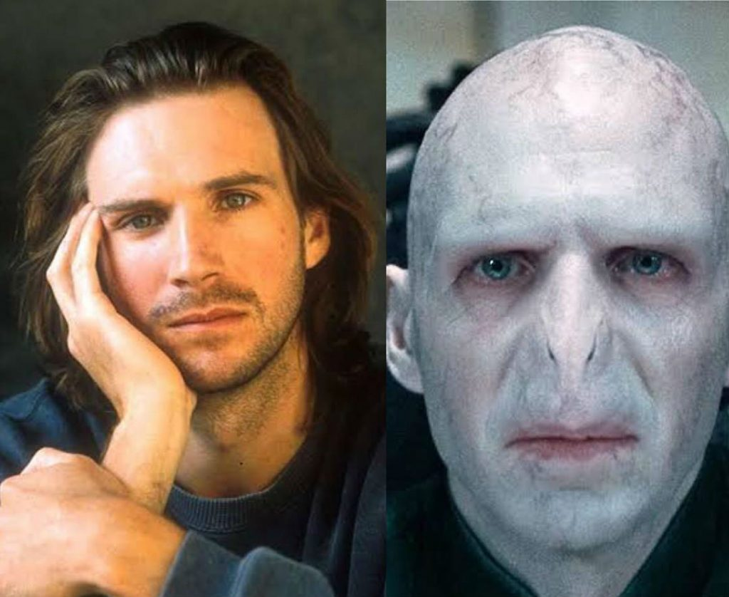 Ralph Fiennes/Lord Voldemort | The Older Cast Of Harry Potter In Their Much Younger Photos | ZestRadar