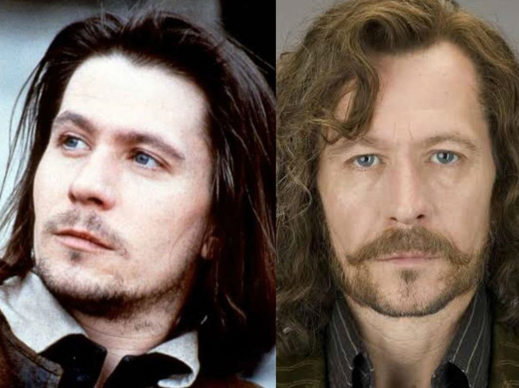 Gary Oldman/Sirius Black | The Older Cast Of Harry Potter In Their Much Younger Photos | ZestRadar