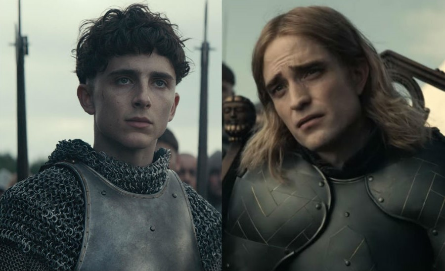"Timothee Chalamet and Robert Pattinson in The Final Trailer of ""The King"" 