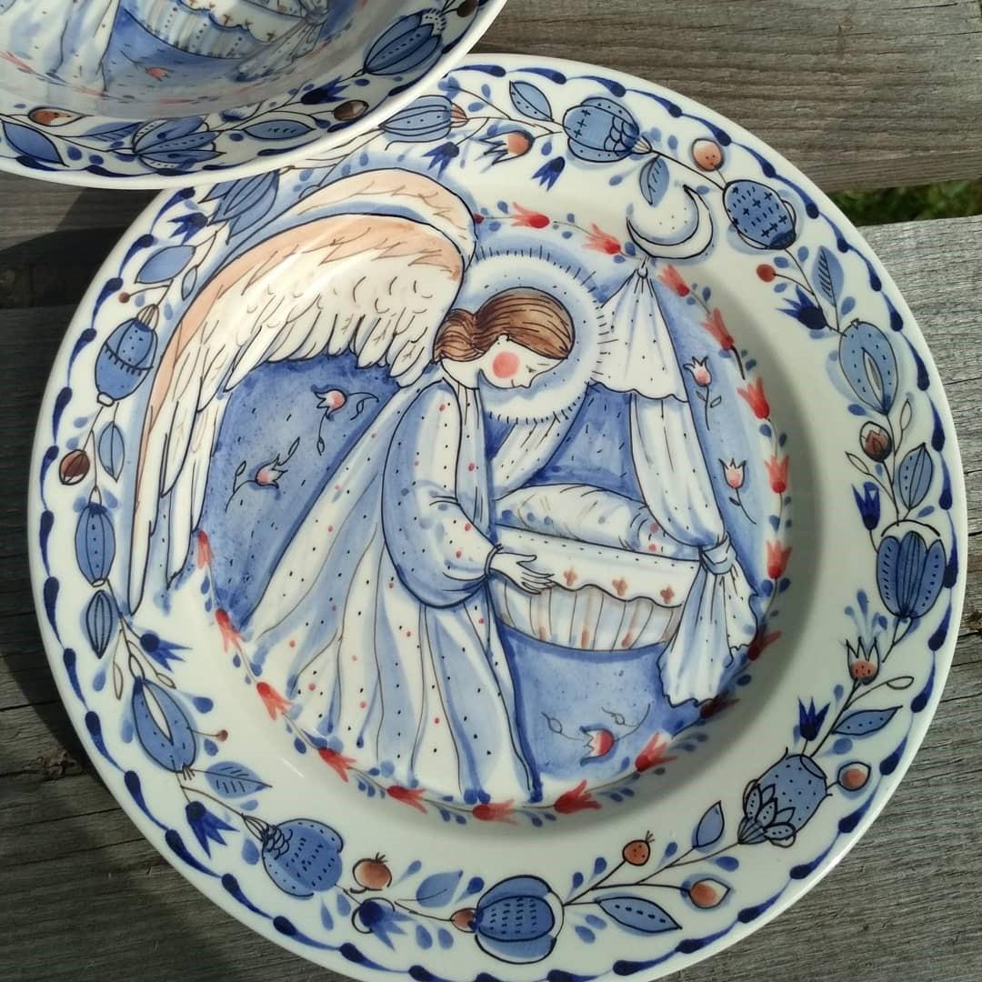 Ангел-хранитель   Волшебная керамика, которая влюбляет в себя с первого взгляда   Brain Berries