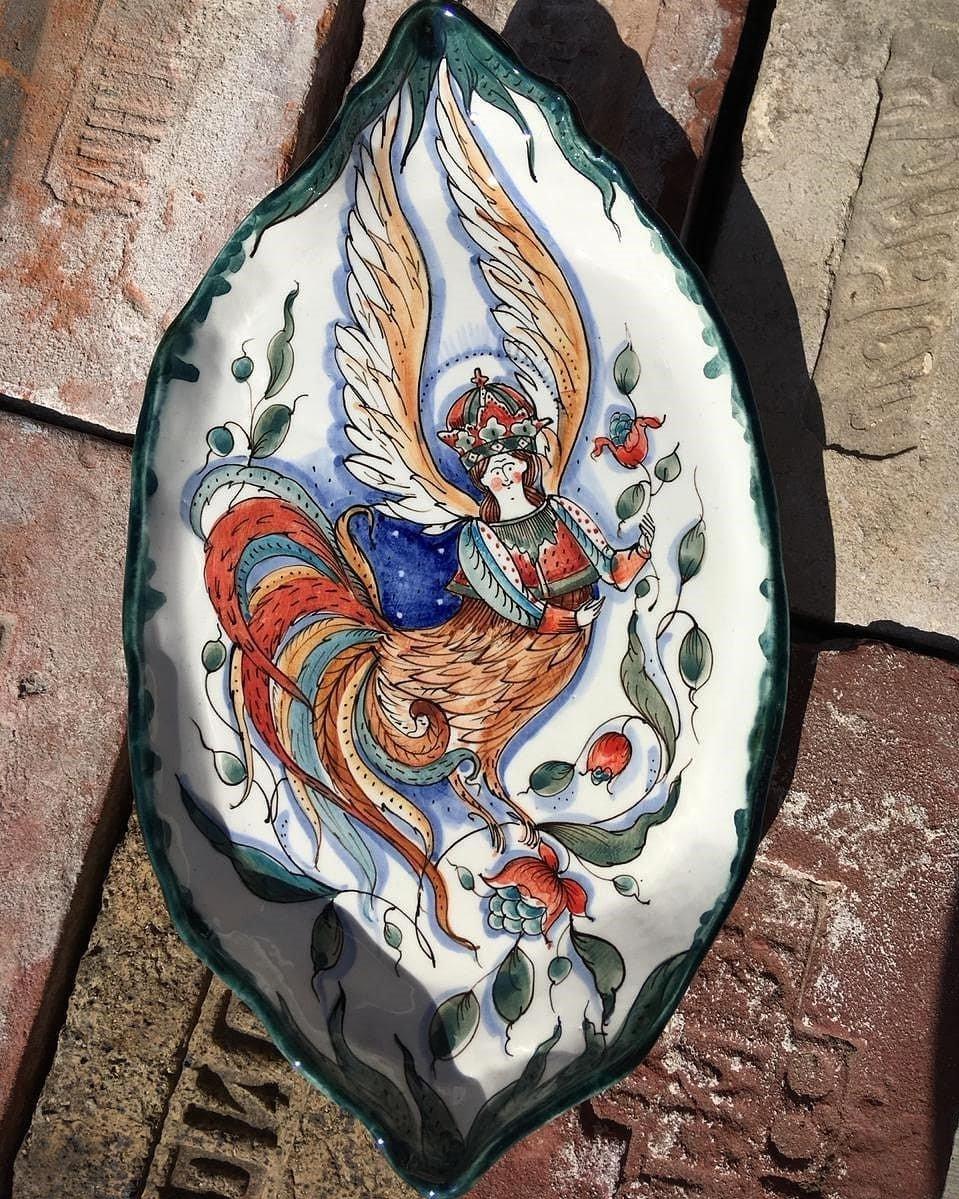 Райская птица Сирин   Волшебная керамика, которая влюбляет в себя с первого взгляда   Brain Berries