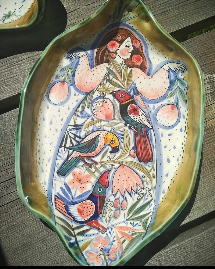 Тропики   Волшебная керамика, которая влюбляет в себя с первого взгляда   Brain Berries