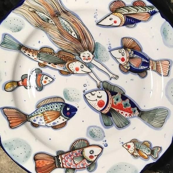 Рыбы | Волшебная керамика, которая влюбляет в себя с первого взгляда | Brain Berries
