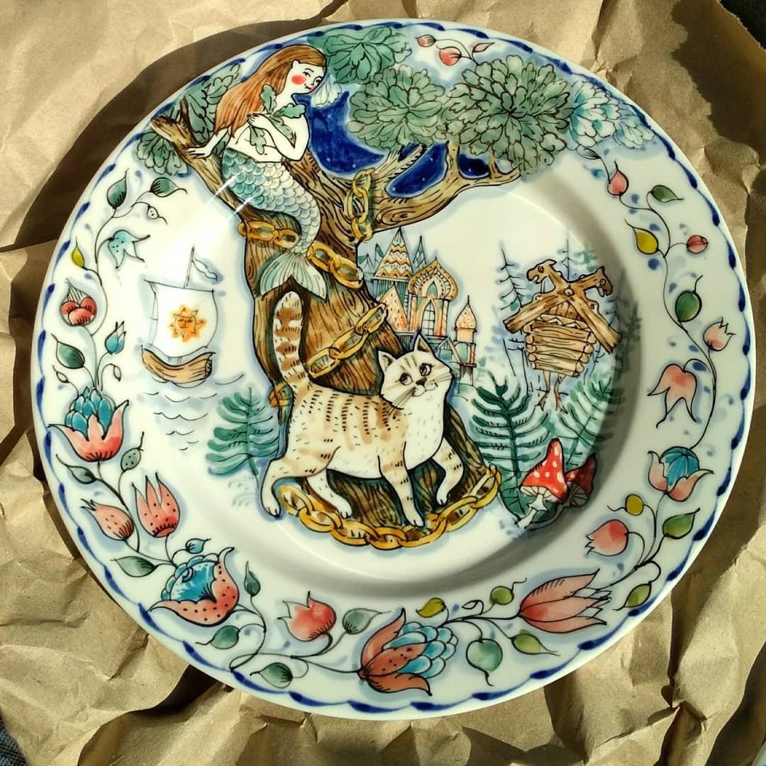 Сказки Пушкина | Волшебная керамика, которая влюбляет в себя с первого взгляда | Brain Berries