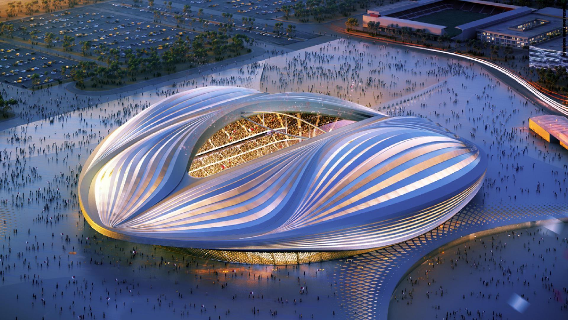 Футбольный стадион 2022, Катар | Космические работы самой известной женщины-архитектора Захи Хадид | Brain Berries