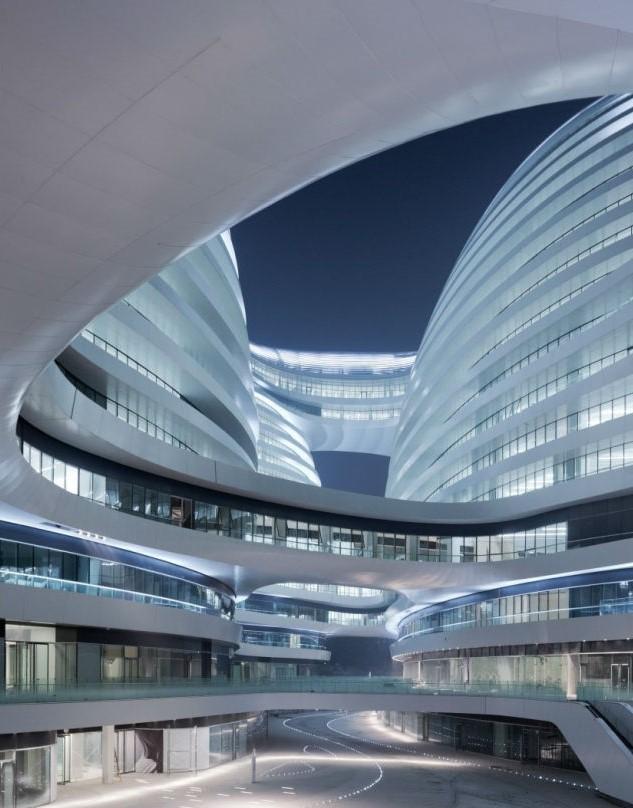 Galaxy SOHO | Космические работы самой известной женщины-архитектора Захи Хадид | Brain Berries