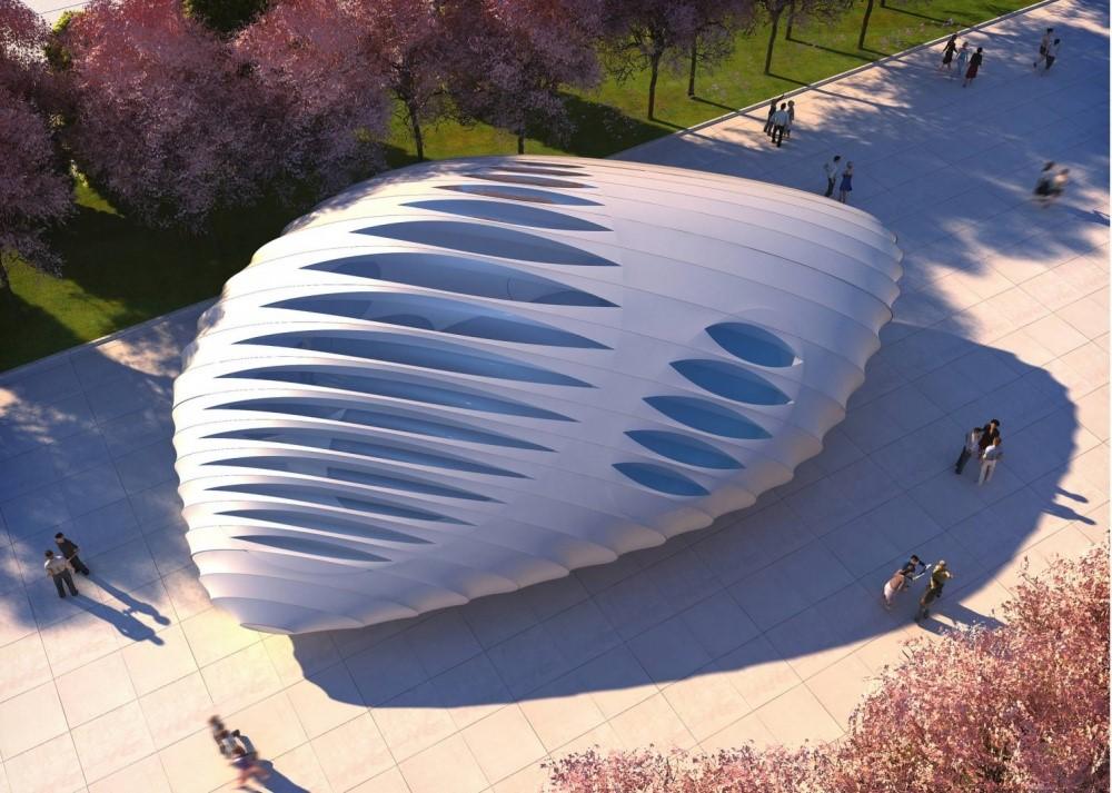 Павильоны Бернхема в Чикаго, США | Космические работы самой известной женщины-архитектора Захи Хадид | Brain Berries