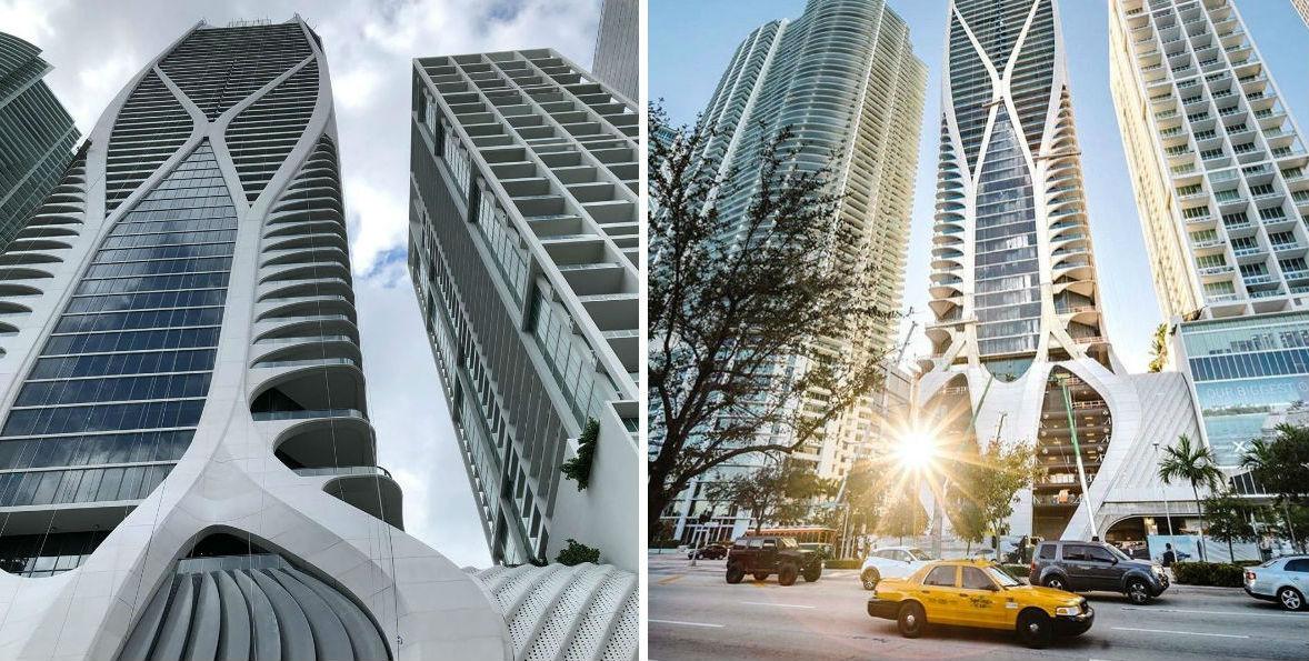 OneThousandMuseum, Майами | Космические работы самой известной женщины-архитектора Захи Хадид | Brain Berries