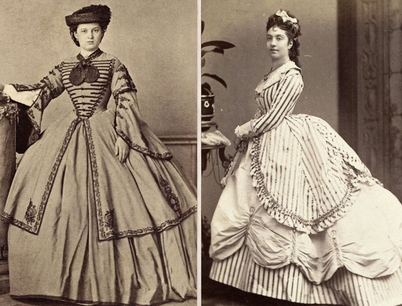 Huge crinoline skirts | 7 Bizarre Victorian Fashion Trends We're Glad Are Gone Now | Zestradar