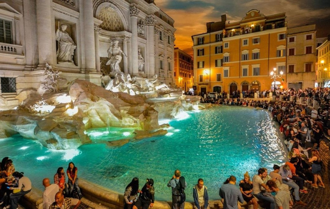 Фонтан Треви, Рим | 10 волшебных мест, где исполняются заветные желания | Brain Berries