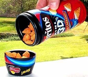3. 3D Doritos | 12 Glorious Foods That Defined Our Childhoods | Brain Berries