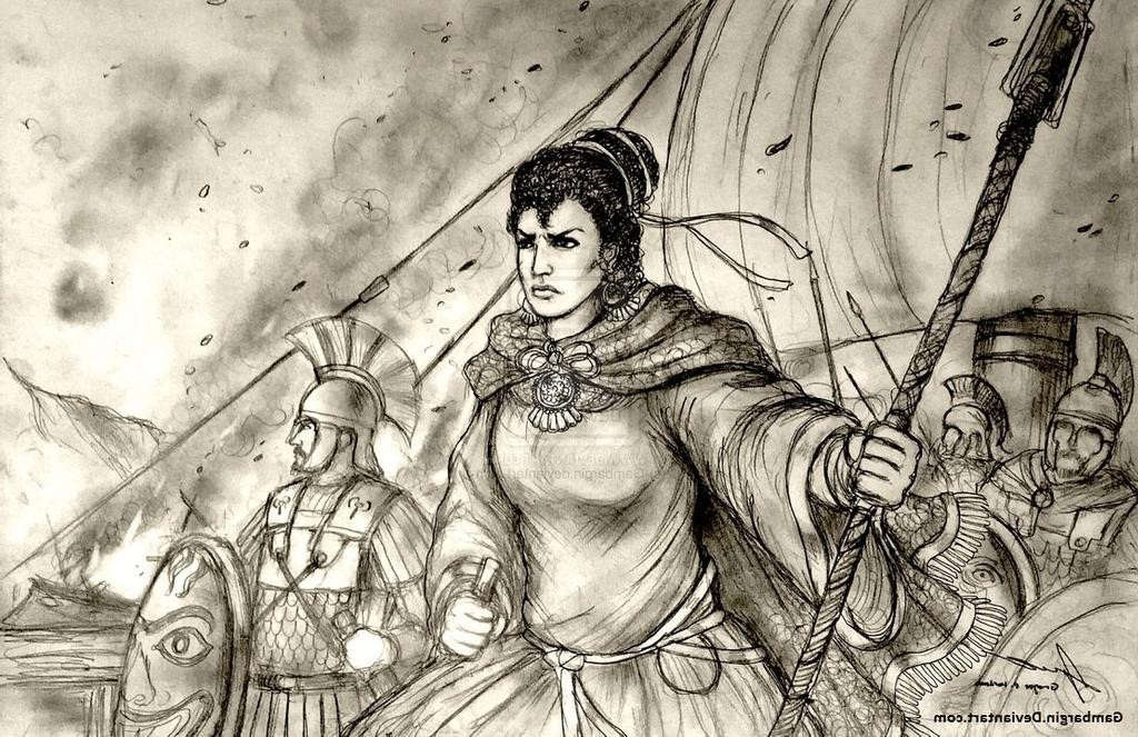 Artemisia of Caria | 6 Fiercest Female Warriors in History | Brain Berries