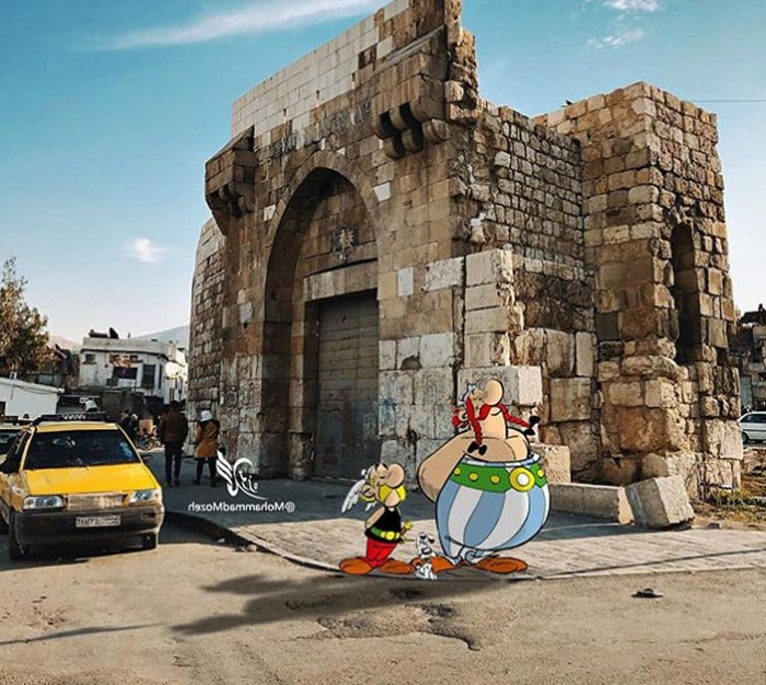 Asterix and Obelix | Artist Puts Famous Cartoon Characters Into Real Life Setting, And It's Breathtaking | Zestradar