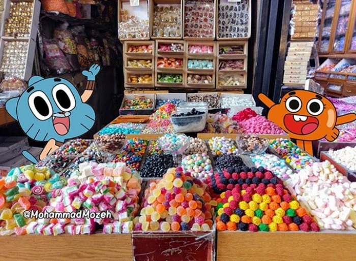 Yummy sweets | Artist Puts Famous Cartoon Characters Into Real Life Setting, And It's Breathtaking | Zestradar