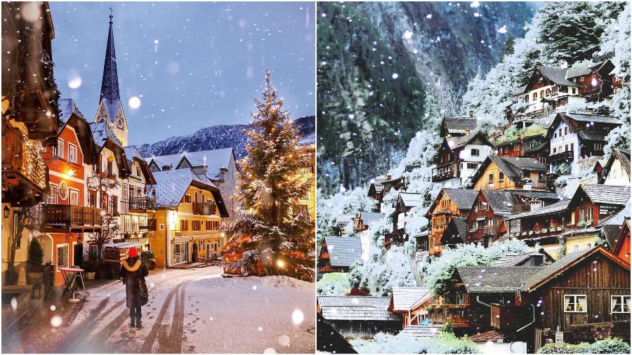 Hallstatt, Austria | 7 Christmassy Villages In Europe | Zestradar