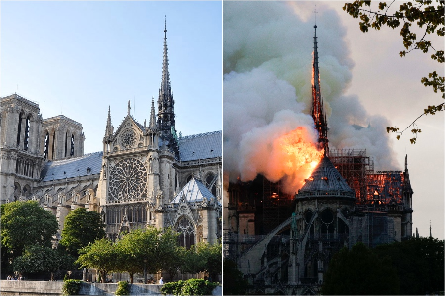 Notre Dame Cathedral   | The Historical Sights We Lost In The Last 5 Years | BrainBerries