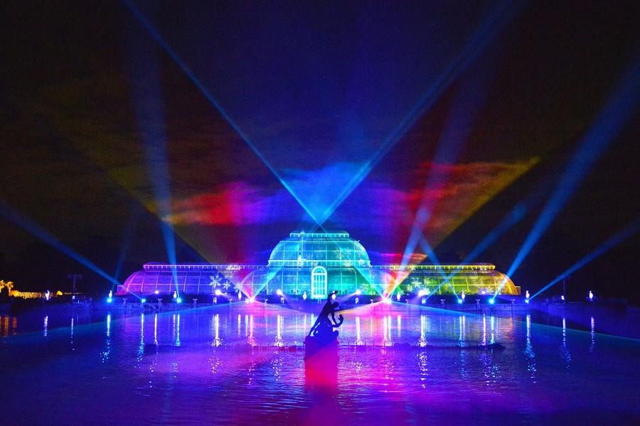 Kew Gardens, London, England | 10 Best Christmas Light Displays Around The World | Zestradar