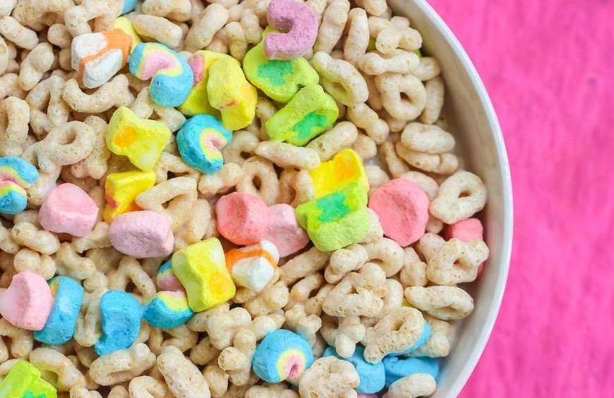 12. Lucky Charms, but just the marshmallows | 12 Glorious Foods That Defined Our Childhoods | Brain Berries