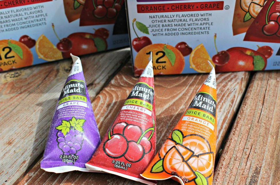 6. Minute Maid Frozen Juice bars | 12 Glorious Foods That Defined Our Childhoods | Brain Berries