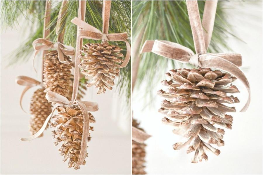 Pinecone Ornaments | 10 Pinecone DIYs To Try This Christmas | Zestradar