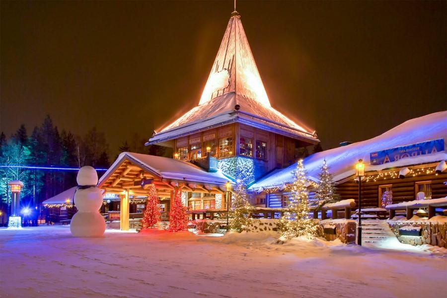Santa Claus Village in Rovaniemi, Lapland, Finland | 7 Christmassy Villages In Europe | Zestradar