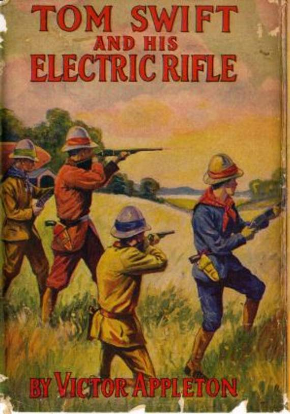 7. Tom Swift and His Electric Rifle by Edward Stratemeyer | 10 Science Fiction Works That Inspired Real-Life Inventions | Brain Berries