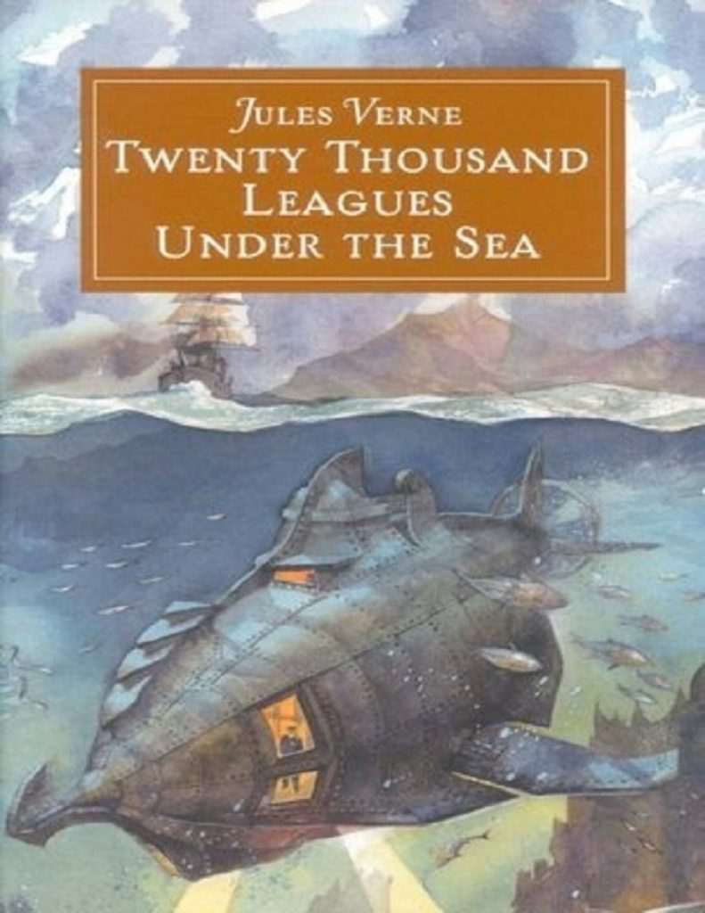 2. Twenty Thousand Leagues Under the Sea by Jules Vernes | 10 Science Fiction Works That Inspired Real-Life Inventions | Brain Berries