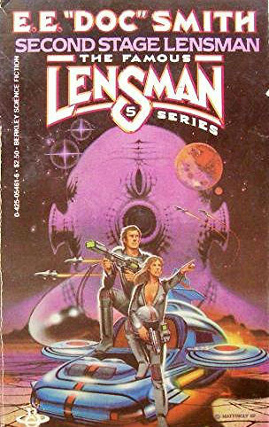 "4. The Lensman series by E.E. ""Doc"" Smith 