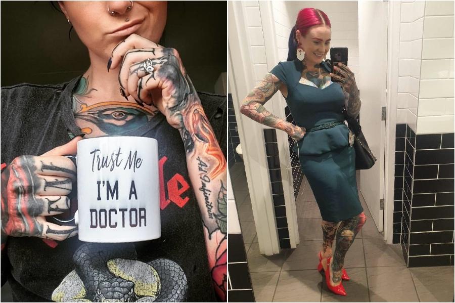 #1 | Fully Tattooed Doctor From Australia Is Making Headlines | Zestradar