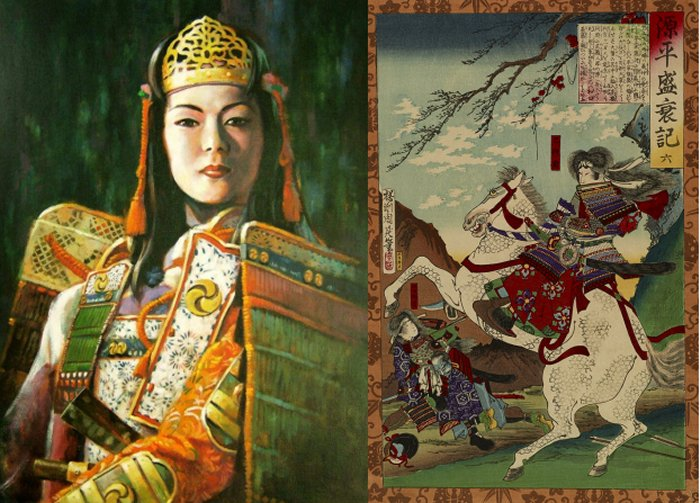 Tomoe Gozen | 6 Fiercest Female Warriors in History | Brain Berries