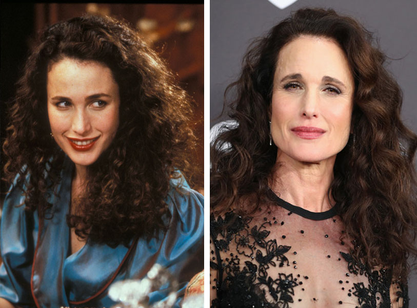 Andie MacDowell | 10 Iconic Hollywood Stars Who Totally Disappeared From The Big Screen (And What Happened To Them) | Zestradar
