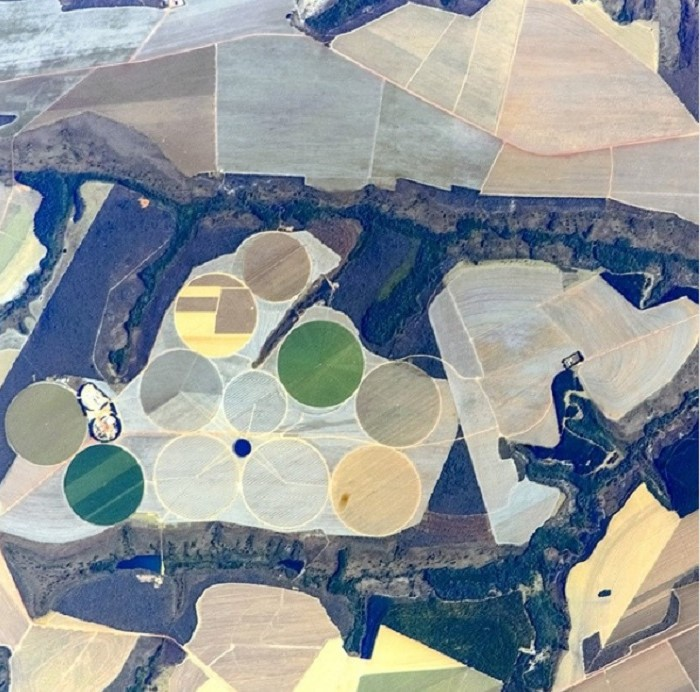 Plantation fields   11 Mind-Bending Things That Can Be Seen Only From Space   Zestradar