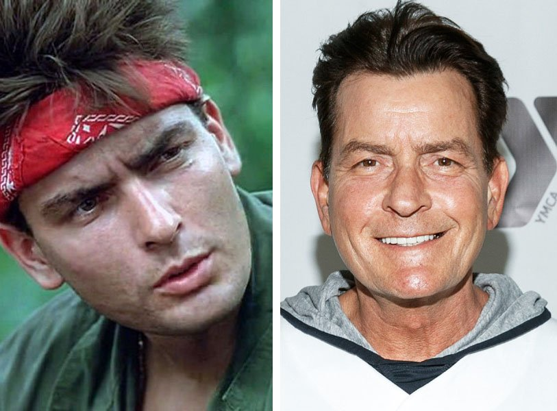 Charlie Sheen | 10 Iconic Hollywood Stars Who Totally Disappeared From The Big Screen (And What Happened To Them) | Zestradar