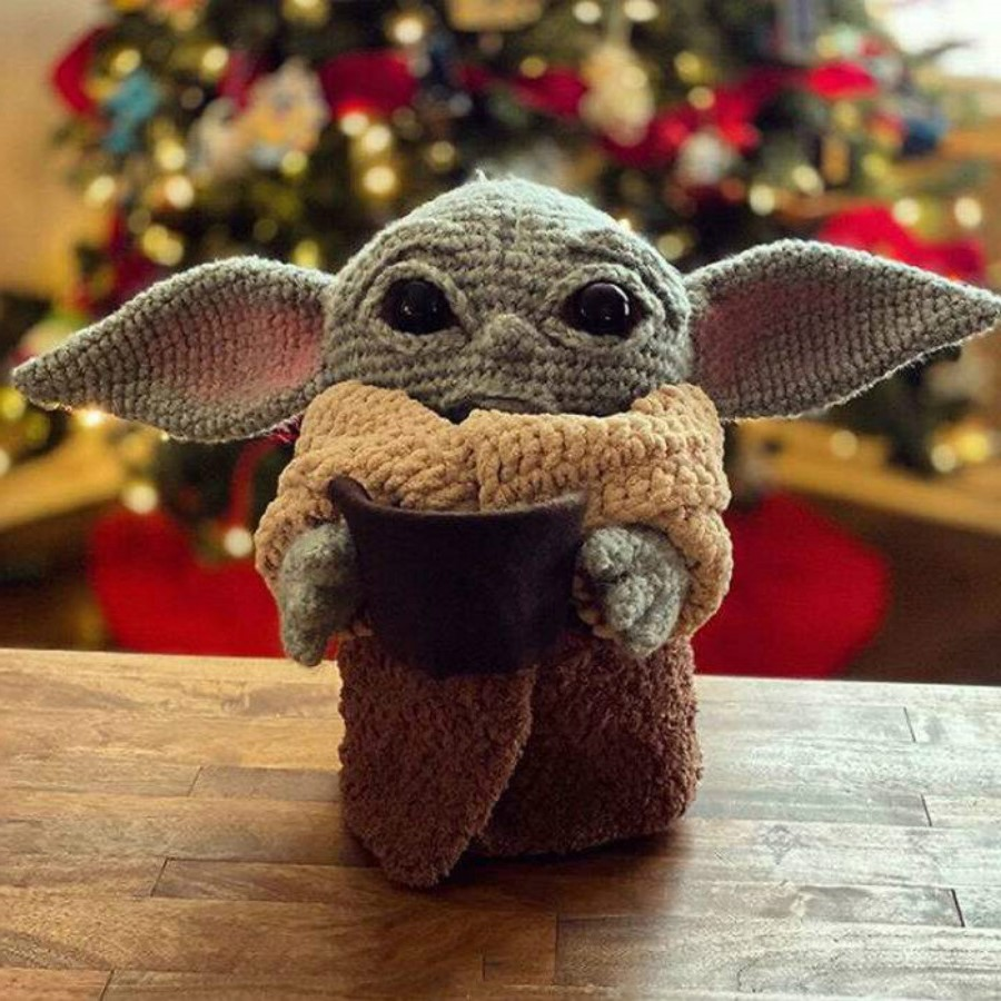 #2 | This Crocheted Baby Yoda Is Too Adorable To Handle | Zestradar