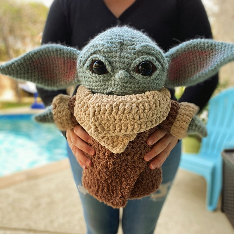 #3 | This Crocheted Baby Yoda Is Too Adorable To Handle | Zestradar