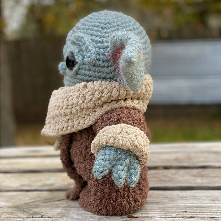 #4 | This Crocheted Baby Yoda Is Too Adorable To Handle | Zestradar
