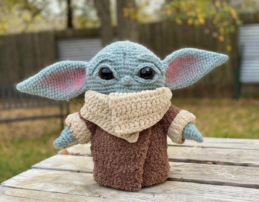 #6 | This Crocheted Baby Yoda Is Too Adorable To Handle | Zestradar