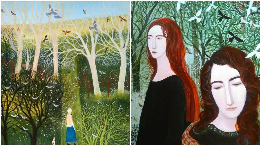 #6 | Artist Uses Meditative Art To Show What Life Looks Like In Rural England | ZestRadar