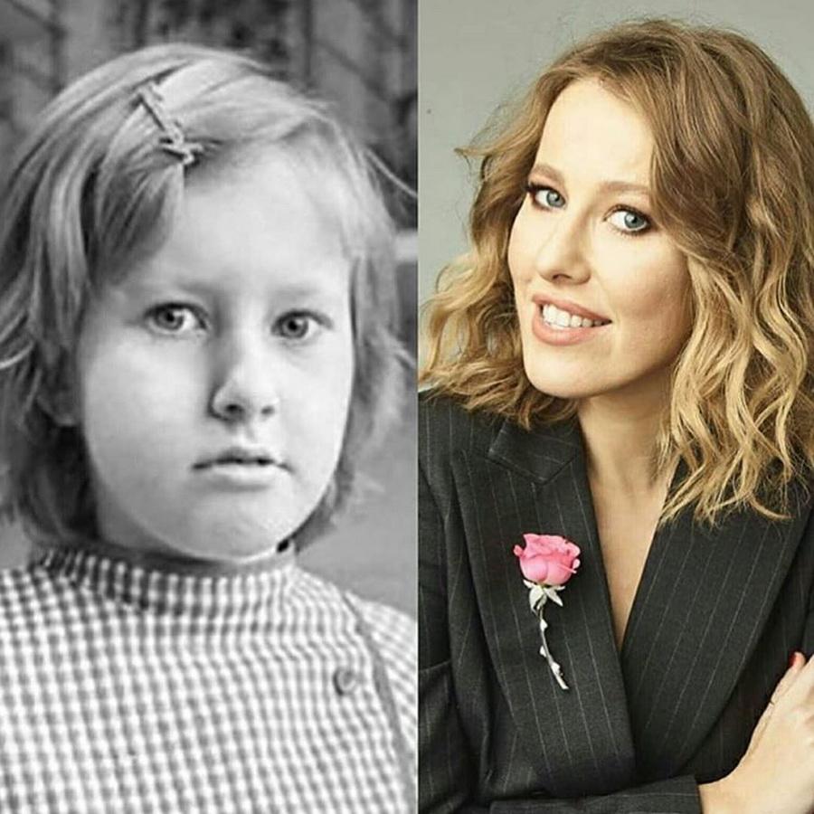 Ксения Собчак | Самые яркие героини телепроекта  Дом-2 в детстве | Zestradar