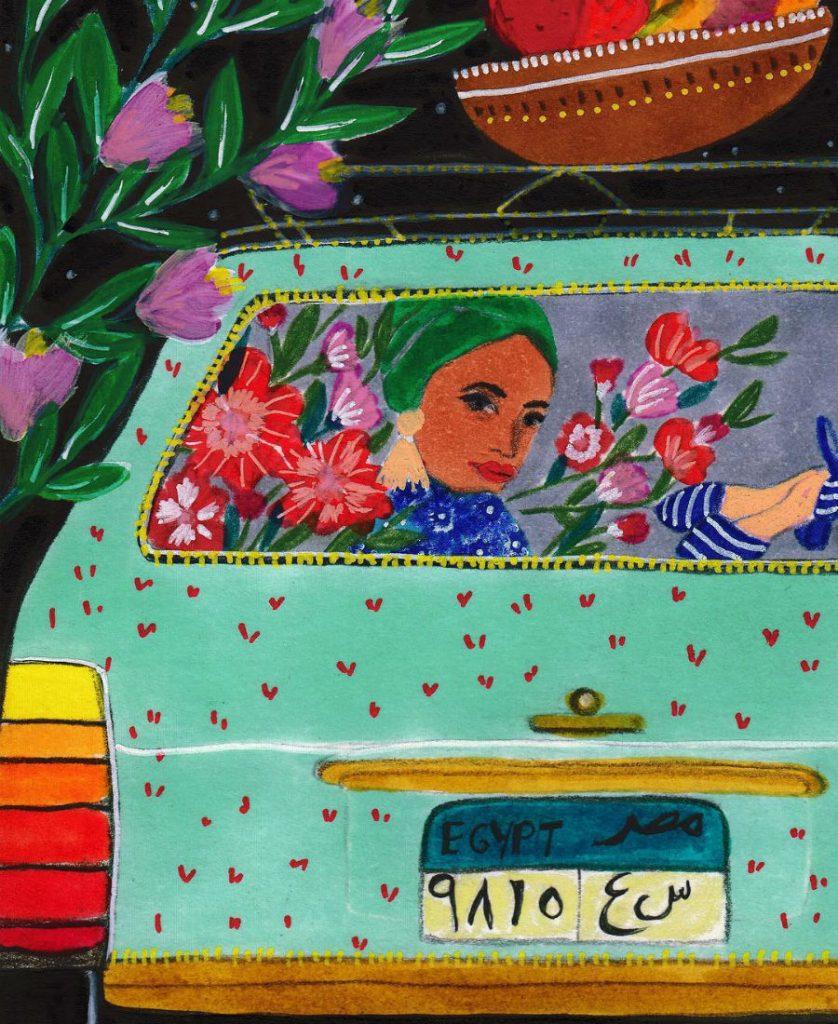 #8   East Meets West In Colorful Feminine Works Of Roeqiya Fris   Zestradar