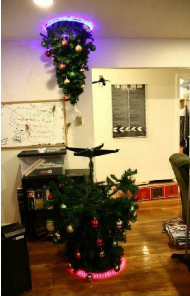 #11 | From Pillows To Lost & Found Items: The Coolest And Weirdest Christmas Trees You've Seen So Far | Zestradar