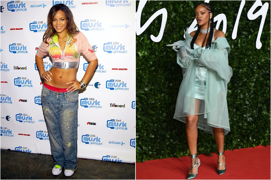 Rihanna | What Stars Looked Like at Their First Red Carpet | Zestradar